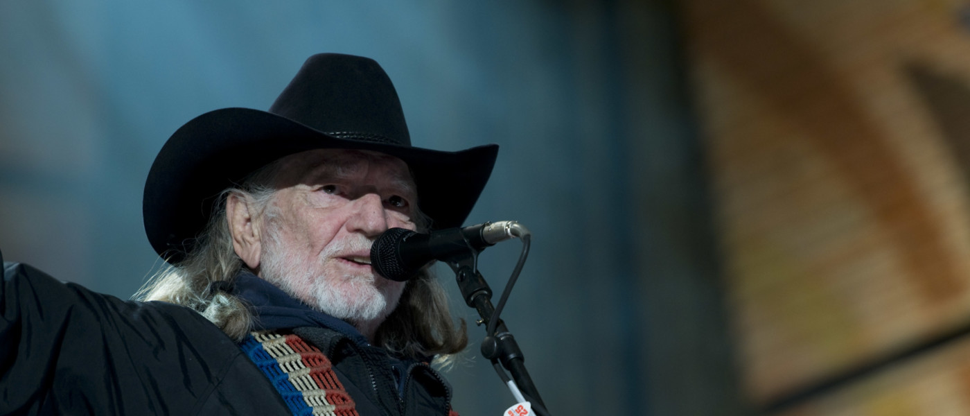 Willie Nelson at Farm Aid 25 in 2010