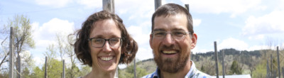 Trish Jenkins and Jeremy Smith at Cycle Farm in Spearfish, South Dakota