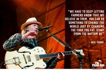 Inspiring quotes from Farm Aid artists